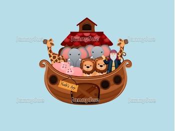 Noah's Floating Zoo Craft