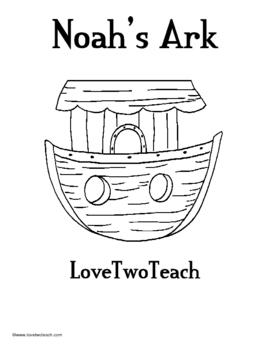 Noah's Arc:  Literacy and Math Center Fun