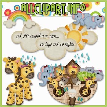 Noah's Ark 1 Clip Art