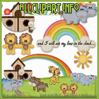 Noah's Ark 3 Clip Art