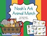 Noah's Ark Animal Match