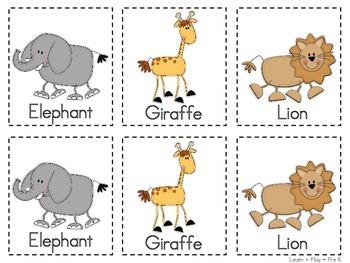 Noah's Ark Animal Match