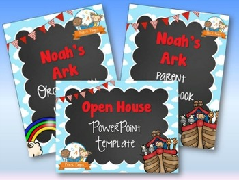 Noah's Ark Back-to-School Timesaver Bundle