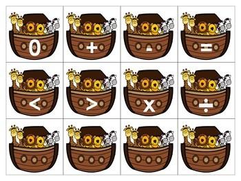Noah's Ark Calendar Card Numbers