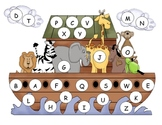 Noah's Ark Capital Alphabet Mat