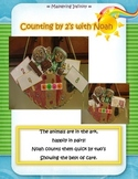 Noah's Ark:  Counting by 2's