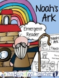 Noah's Ark Emergent Reader (2 Versions)