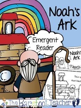Noah's Ark Emergent Reader (2 Versions)