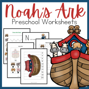 Noah's Ark PreK-2 Learning Pack