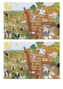 Noah's Ark Story Sequencing Activity
