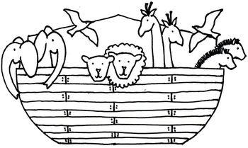 Noah's Ark Triorama Bible Craft