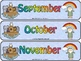 Noah's ark Calendar Set