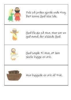 Noas ark - billedkort