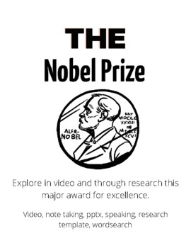 Nobel Prize Activity Sheets