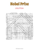 Nobel Prize Word Search Puzzle