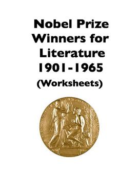 Nobel Prizes for Literature: 1901-1965 (Worksheets)