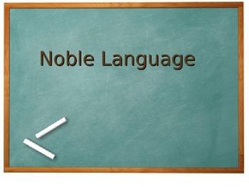 Noble Language