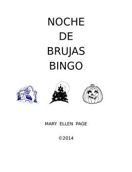 Noche de Brujas (Halloween) Bingo