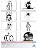 Spanish: Noche de Brujas - Halloween - Pack 1 - Vocabulario