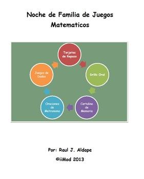 Noche de Familia de Juegos Matematicos Centros (Direcciones)