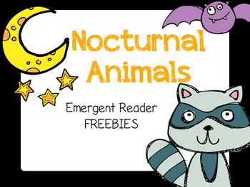 Nocturnal Animal Freebie