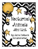 Nocturnal Animals Mini Unit + Old Lady Who Swallowed a Bat {Common Core Aligned}