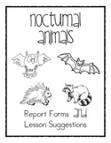 Nocturnal Animal Report