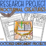 Nocturnal Animal Research Project