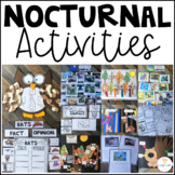 Nocturnal Animals (20+ Writing, Science and Literacy Activities) K-1