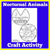 Nocturnal Animals Craft