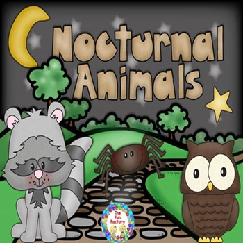 Nocturnal Animals 2nd and 3rd Grades