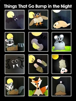 Nocturnal Animals Integrated Unit and Activities