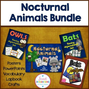 NOCTURNAL ANIMALS: Including Bats, Owls