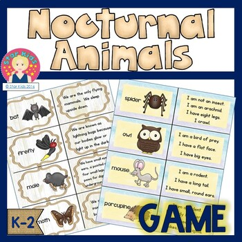 Game - Nocturnal Animals
