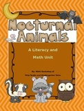 Nocturnal Animals Literacy and Math Unit