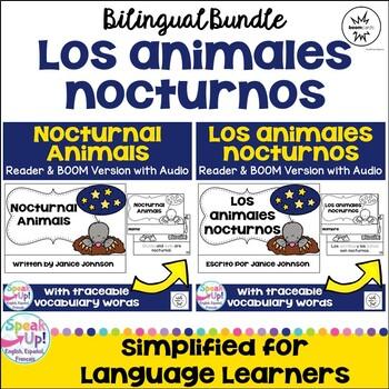 Nocturnal Animals ~ Los animales nocturnos Science Readers {Bilingual}