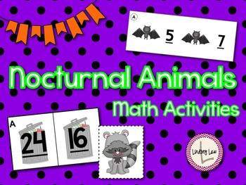 Nocturnal Animals- Math Activities