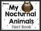 Nocturnal Animals Packet