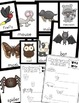 Bats - Nocturnal Animals Posters with Corresponding Writin