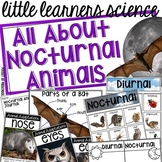Nocturnal Animals - Science for Little Learners (preschool, pre-k, & kinder)