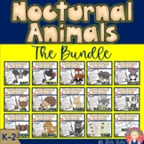 Nocturnal Animals Bundle for Kindergarten and First Grade