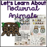 Nocturnal Animals Unit of Study for Kindergarten and 1st Grade