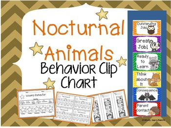Nocturnal Behavior Clip Chart