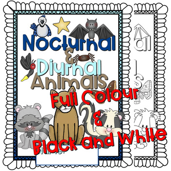 Nocturnal and Diurnal Animals Lapbook