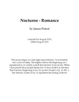 Nocturne - Romance (J. Poteat)