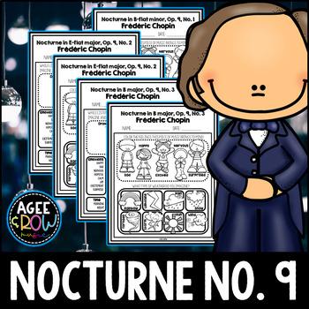 Nocturnes, Op. 9, Frédéric Chopin, Poland, Romantic, Listening Sheets