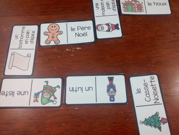 Noël:  3 French Christmas Themed Vocabulary Games