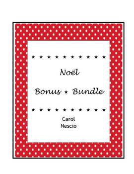 Noël Bonus * Bundle