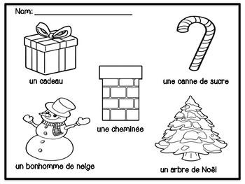 Noel Cahier d'activité