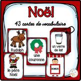 Noël - Cartes de vocabulaire - French Christmas